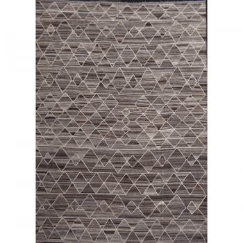 15574 17 x 12 ft Kilim Arijana rug oversize large room size gray brown beige